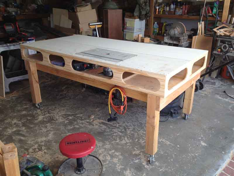 Brilliant Thinking About Building A Rolling Workbench Page 2 The Ibusinesslaw Wood Chair Design Ideas Ibusinesslaworg