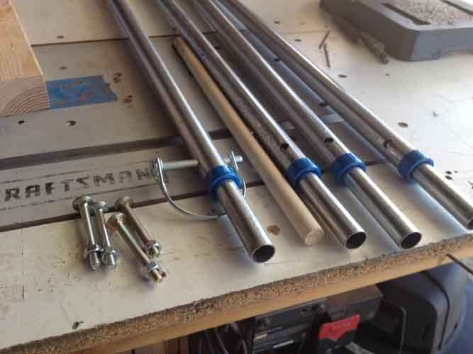 Fabricating Tent Awning Poles From Emt Conduit A How To