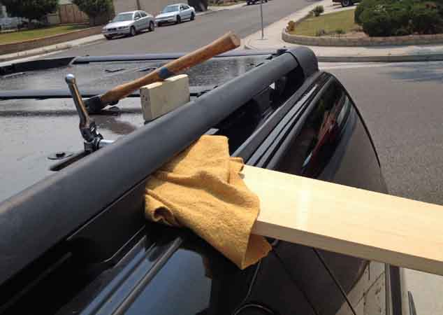 Building A Roof Rack Deck On A GMT800 Suburban Z 71 [Archive]   Expedition  Portal